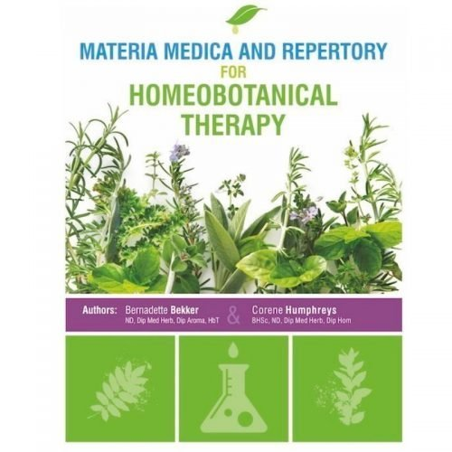 Materia Medica and Repertory Book